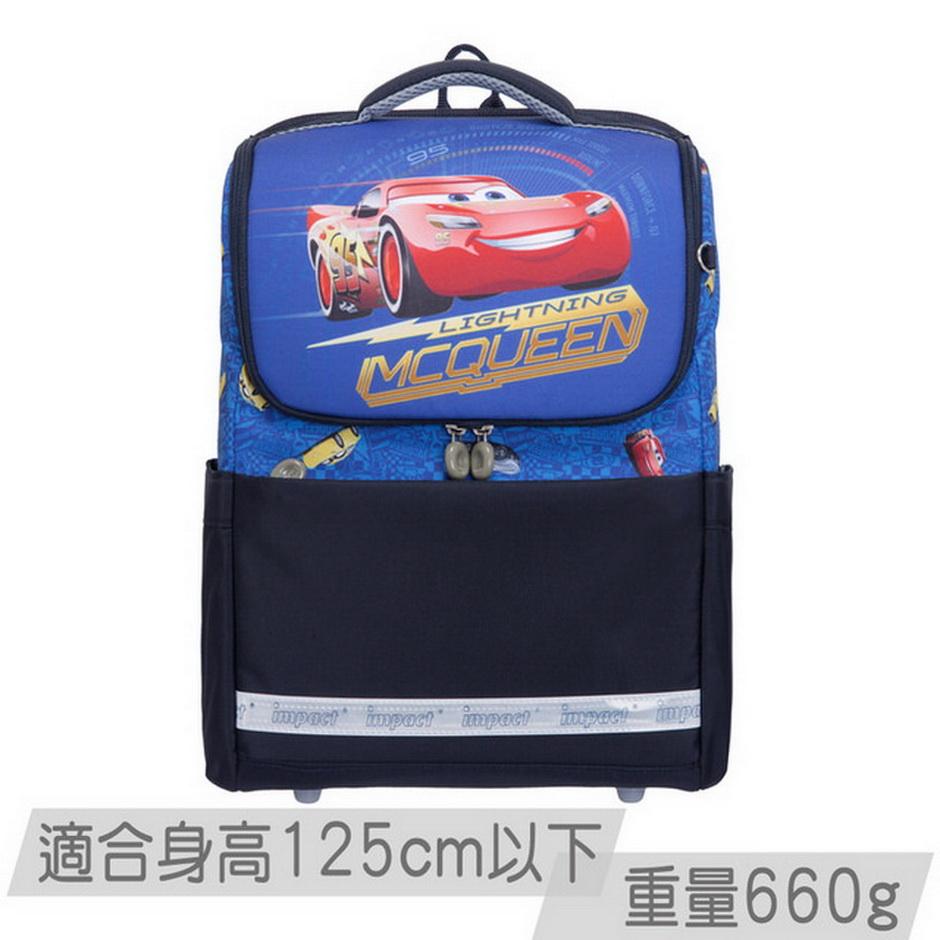IMPACT怡寶 超輕量書包-CARS系列-深藍 IMCS601NY(IMCS601NY)