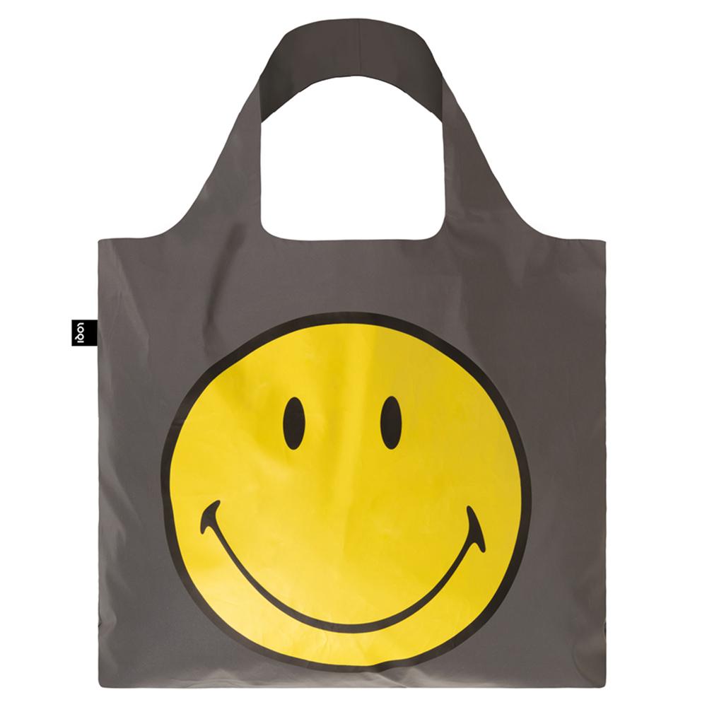 LOQI 購物袋-反光笑臉 RESM
