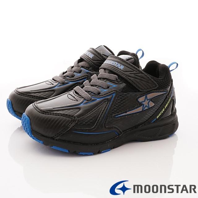 日本Carrot機能童鞋--防水止滑競速款-(SSJ8706黑-19-24.5cm)