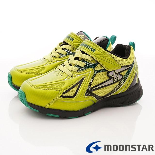 日本Carrot機能童鞋--防水止滑競速款-(SSJ8707黃綠-19-24.5cm)
