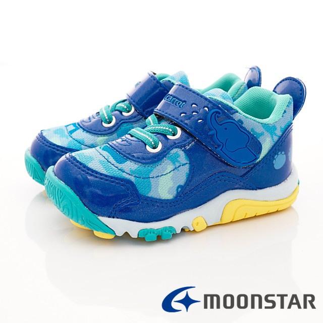 日本Carrot機能童鞋--速乾公園玩耍機能款-(C22215藍-15-19cm)