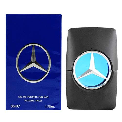 【Mercedes Benz 賓士】Men 王者之星淡香水(50ml)