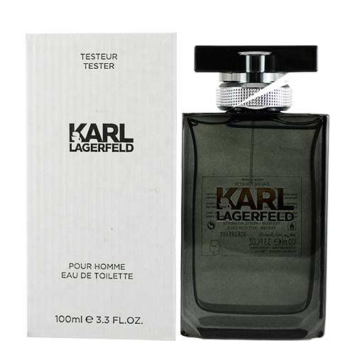 KARL LAGERFELD 卡爾同名時尚男性淡香水100ml(TESTER)