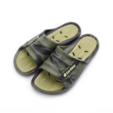 LOTTO 雙色排水套式拖鞋 迷彩綠 LT7AMS5735 男鞋 鞋全家福
