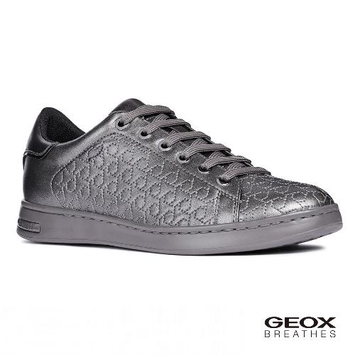 GEOX - D JAYSEN A  義大利休閒鞋  羊皮 鐵灰色(D621BA0BVNF1G9F)