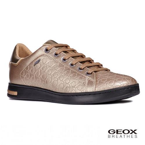 GEOX - D JAYSEN A  義大利休閒鞋  羊皮 香檳色(D621BA0BVNFB500)