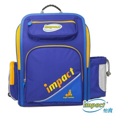 IMPACT怡寶-標準型舒適護脊書包(二代)-寶藍 IM0050BRB