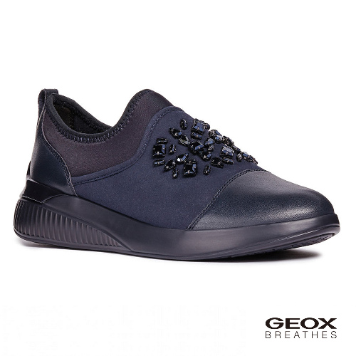 GEOX - D THERAGON A  義大利休閒運動鞋  海軍藍(D848SA054AU4002)
