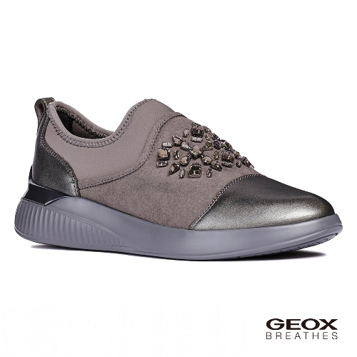 GEOX - D THERAGON A  義大利休閒運動鞋  石墨色(D848SA0AJAU1115)