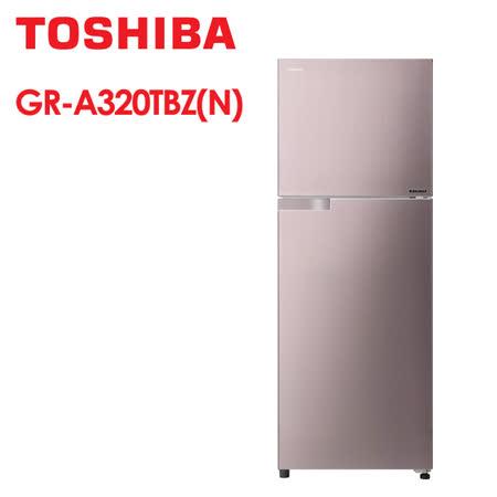 TOSHIBA 東芝  305L 雙門變頻冰箱
