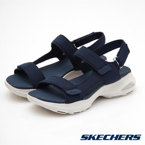 SKECHERS (女) 時尚休閒系列 DLITES ULTRA - 32383NVY