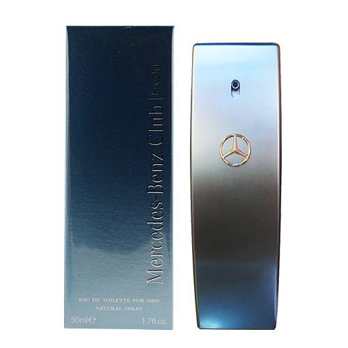 【Mercedes Benz 賓士】自由藍調男性淡香水(50ml)