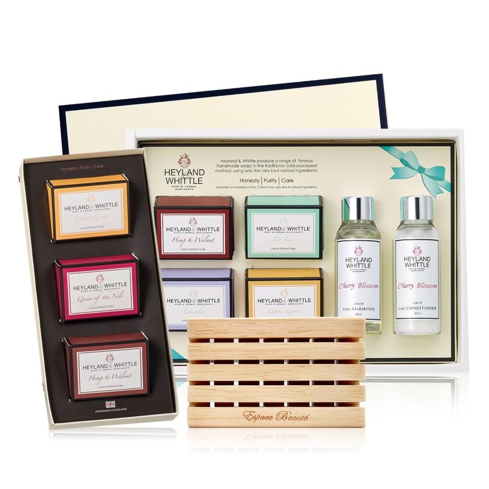 【H&W 英倫薇朵】香氛手工皂禮盒超值組