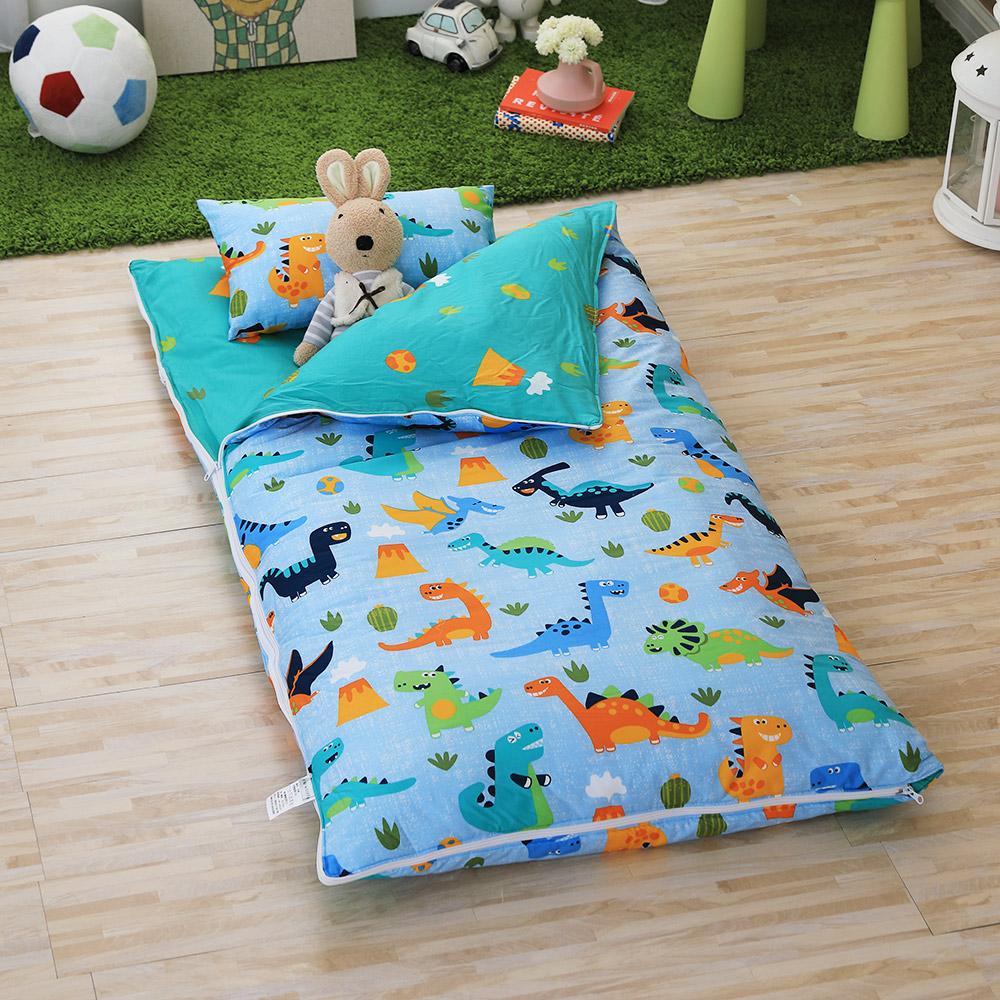 IN HOUSE-侏儸紀派對-200織紗精梳棉-兒童睡袋