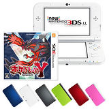 【3DS】任天堂 NEW 3DS LL 日規主機+神奇寶貝/精靈寶可夢Y(贈:硬殼包+傳輸充電線+螢幕保護貼)