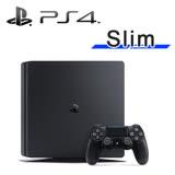 SONY PS4 Slim 500G 主機 (台灣公司貨) 極致黑《限量加贈:主機直立架+手把果凍套》