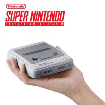 【任天堂】Nintendo 迷你超級任天堂 SUPER FAMICOM (日版) (內建21款經典遊戲)