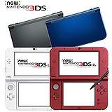 【3DS】NEW 3DS LL 日規主機 (贈:USB充電線+螢幕保護貼)