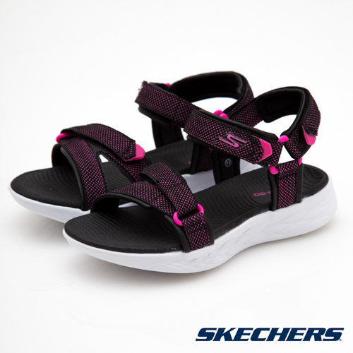 SKECHERS  童  女童涼鞋 ON THE GO 600 ~ 86965LBKHP