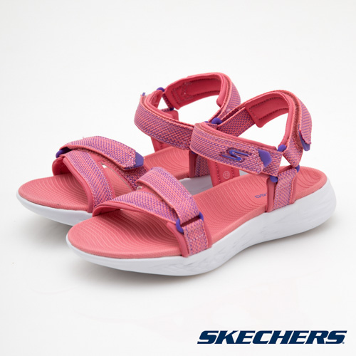 SKECHERS (童) 女童涼鞋 ON THE GO 600 - 86965LCRL