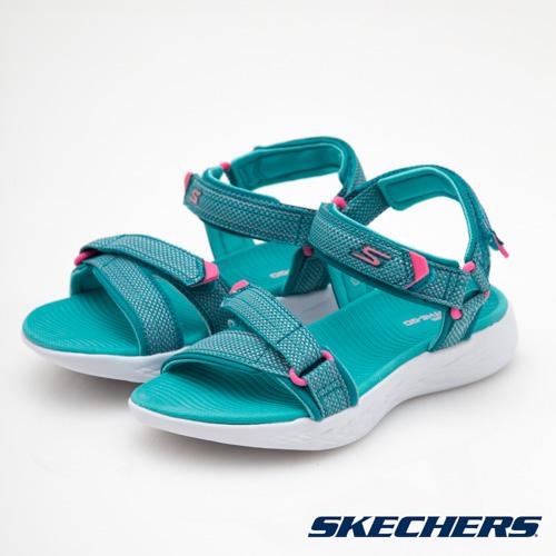 SKECHERS  童  女童涼鞋 ON THE GO 600~86965LAQPK