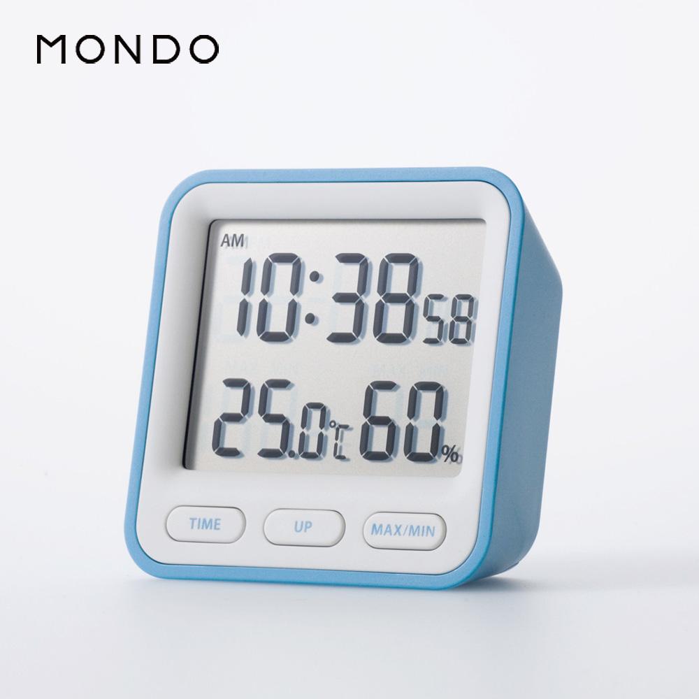 【必翔銀髮】MONDO Thermo溫溼度時鐘
