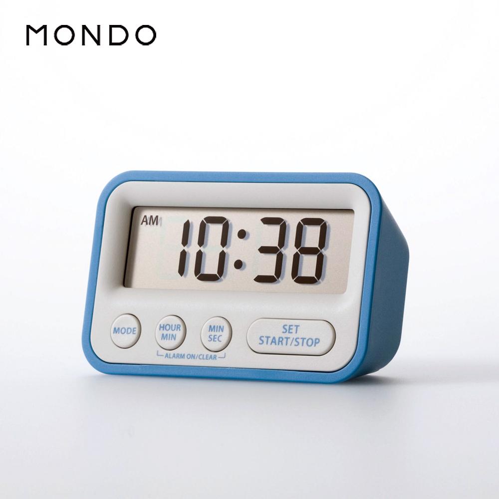 【必翔銀髮】MONDO Time計時器時鐘