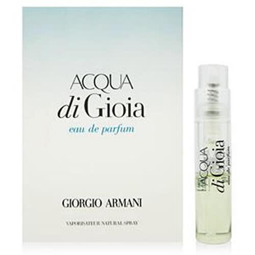 GIORGIO ARMANI亞曼尼 海藍寄情水女性淡香精 針管1.2ml