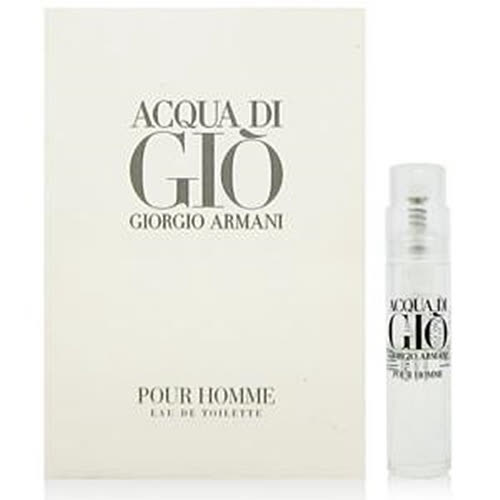 GIORGIO ARMANI亞曼尼 寄情水男性淡香水 針管1.2ml
