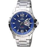 ORIENT東方 SP 系列 冒險家運動石英錶-藍x銀/44mm FUG1X004D