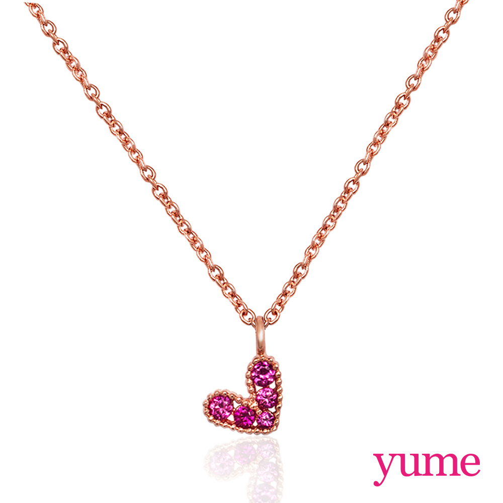 【YUME】Girls 閨蜜系列 - 甜心項鍊