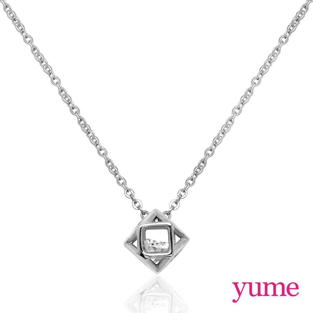 【YUME】Girls 閨蜜系列 - 鑽石球項鍊