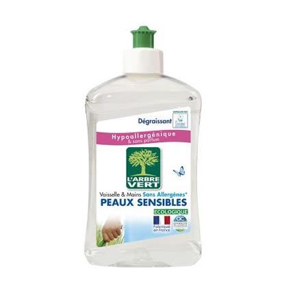 法國綠活維濃縮洗碗精-敏感肌500ml(1入)