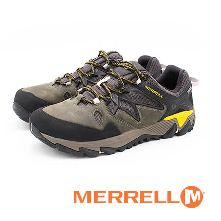 MERRELL(男)ALL OUT BLAZE 2 GORE-TEX®HIKING郊山健行鞋 男鞋-橄欖綠