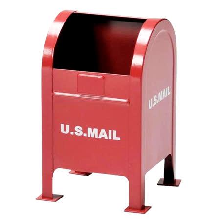 【SETO CRAFT】 美式郵箱筆筒-紅
