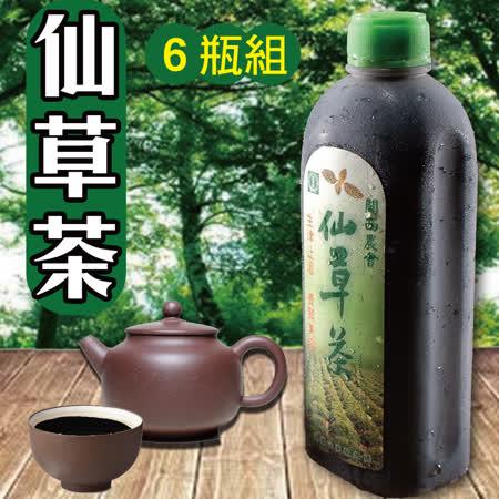 金德恩 台灣製造仙草茶6瓶