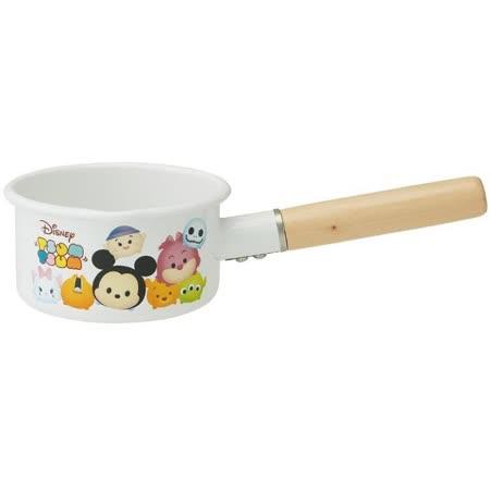 【SKATER】迪士尼 TSUMTSUM單柄琺瑯鍋-14cm