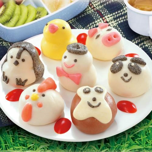禎祥 超可愛造型甜包任選9包