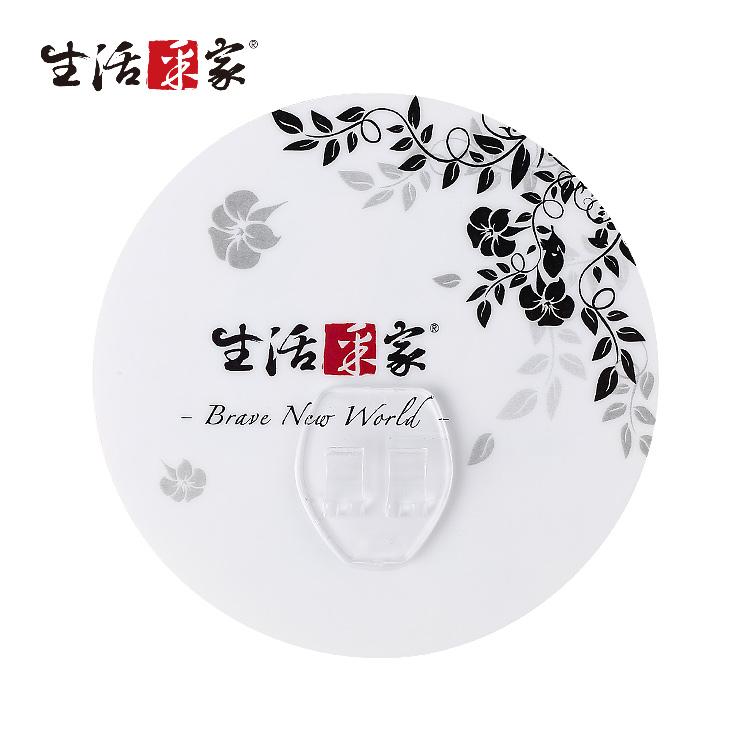 【生采采家】樂貼系列台灣製304不鏽鋼架專用圓型貼片(2入裝)#99364