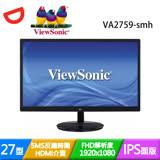 ViewSonic優派 VA2759-smh 27型Full HD 抗藍光零閃頻液晶螢幕