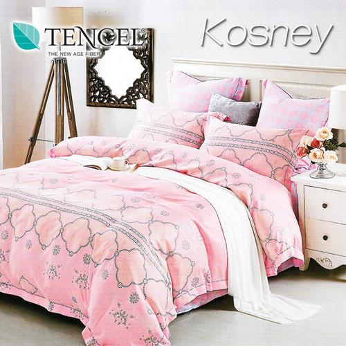 《KOSNEY 洛斯琪》雙人100%天絲TENCEL四件式兩用被床包組