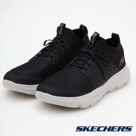 SKECHERS (男) 健走系列 GO WALK EVOLUTION ULTRA - 54726BKGY