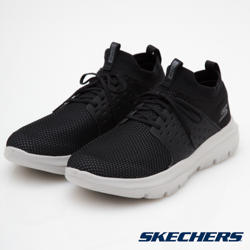 SKECHERS (男) 健走 GO WALK EVOLUTION - 54726BKGY