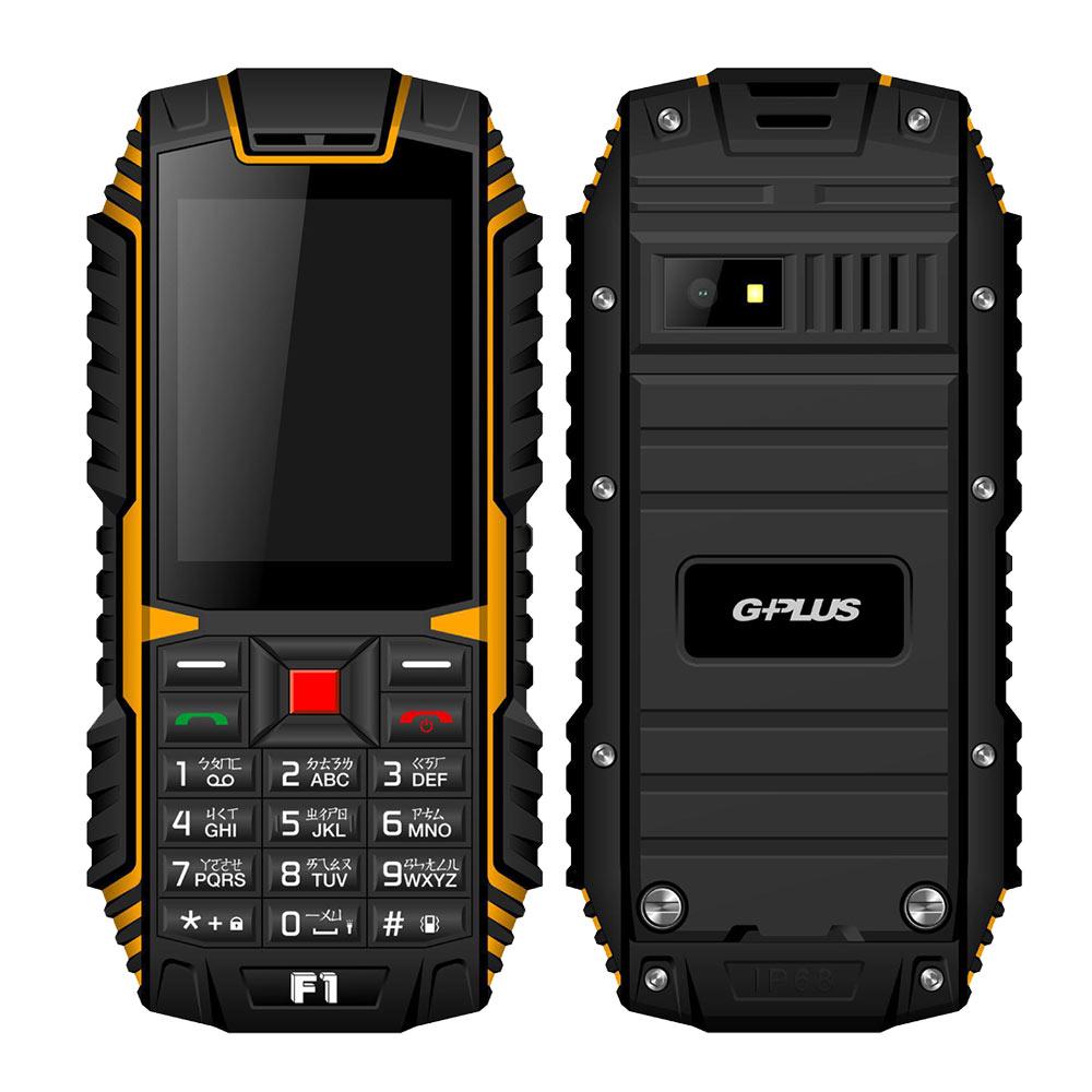【G-PLUS】 F1 直立式功能手機 - 黑色