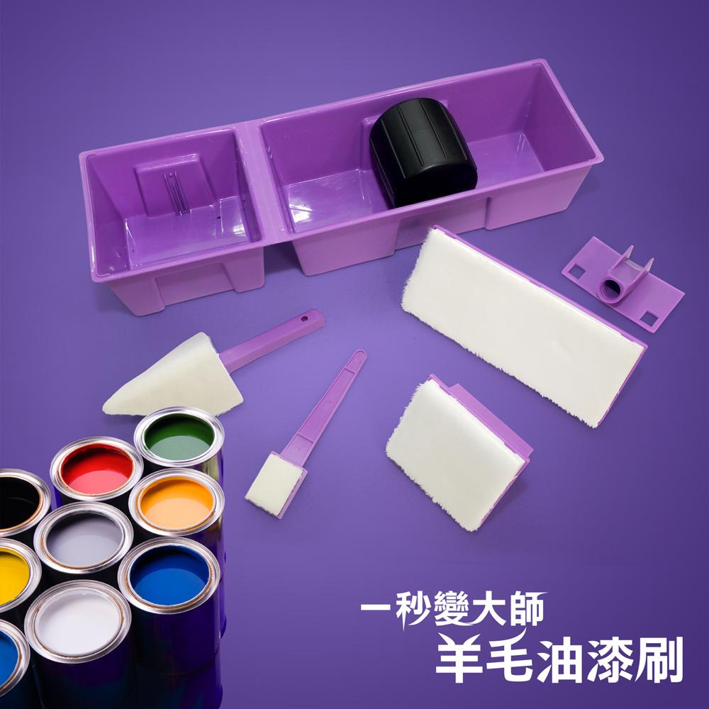 【2入組】羊毛油漆刷(台灣製造)
