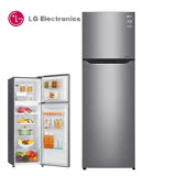 促銷★LG 樂金 253L直驅變頻上下門冰箱 / 精緻銀 GN-L307SV 送基本安裝