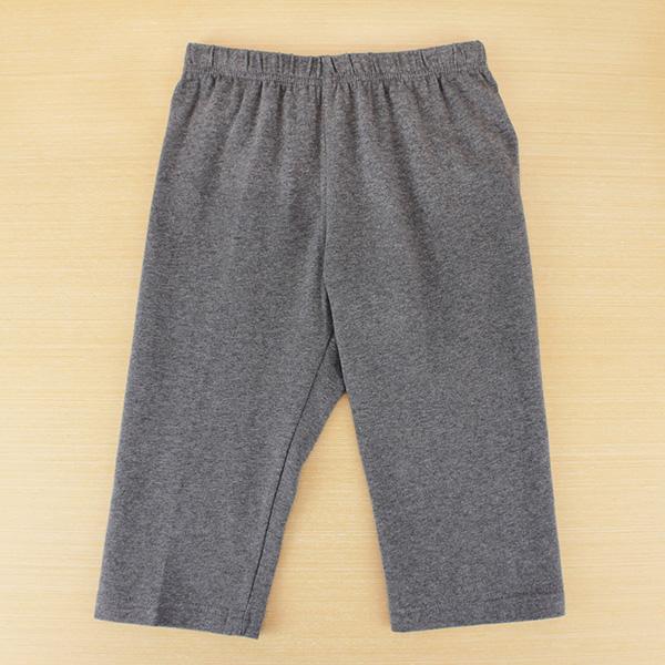 【愛的世界】SUPERKIDS 彈性鬆緊帶緊身七分褲/6~8歲-台灣製-