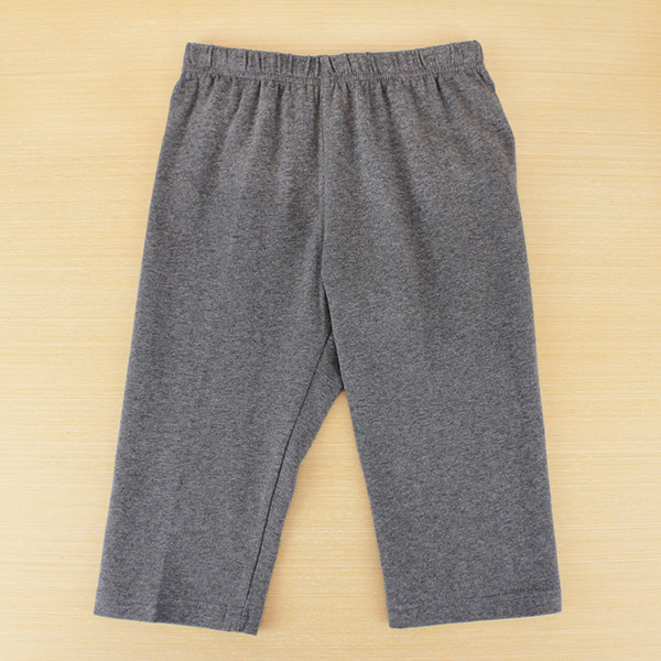 【愛的世界】SUPERKIDS 彈性鬆緊帶緊身七分褲/S~M號-台灣製-