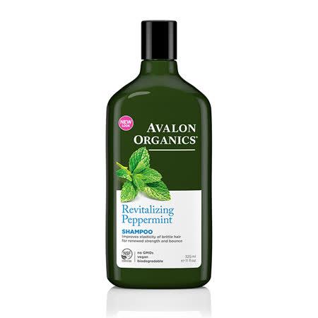 【AVALON ORGANICS】薄荷強健精油洗髮精-11oz