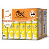 【春風】超細柔抽取式衛生紙(110抽*24包*3串)/箱 加贈【簡約組合】優質抽取式衛生紙90抽*6包(四款隨機出貨)